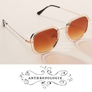 NWT ANTHROPOLOGIE CAPE MAY ROUND SUNGLASSES